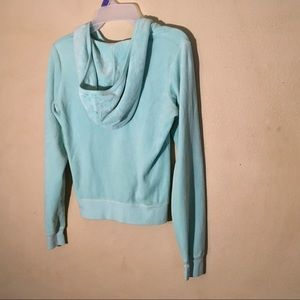 Juicy Couture Jackets & Coats - Juicy Couture Mint Green Hoodie, Sz M